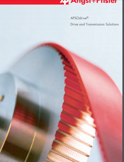 APSOdrive® Drive and Transmission Solutions overview brochure