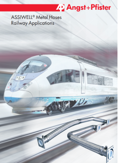 ASSIWELL® Metal Hoses for Railway Applications brochure