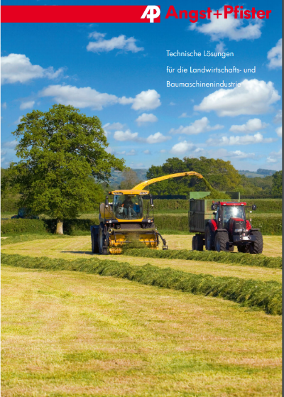 Technical Solutions for the Agriculture and Construction Machinery Industry brochure