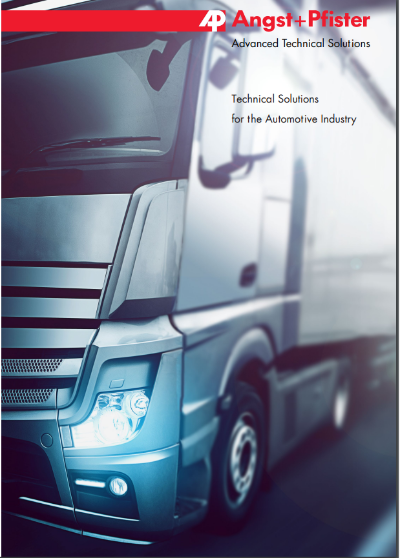 Automotive Industry overview brochure