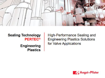 High Performance Sealing and Plastic Solutions for Valves presentation