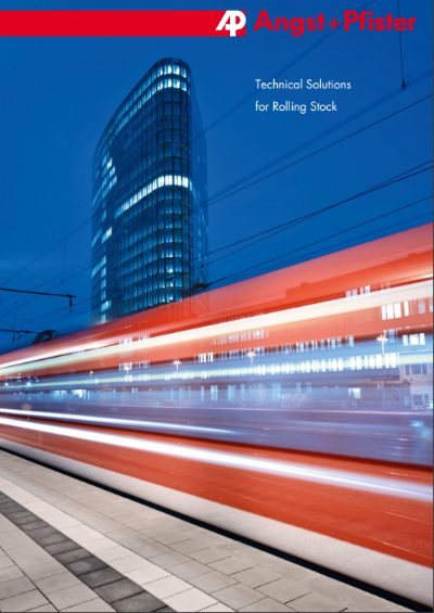 Technical Solutions for Rolling Stock brochure