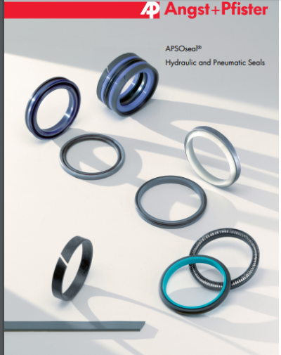 APSOseal® Hydraulic and pneumatic seals technical overview brochure and catalogue