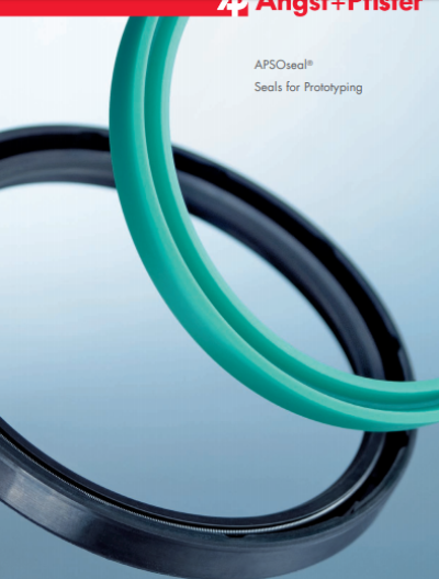 APSOseal® Seals for Prototyping overview brochure