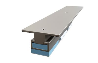 PUR floor support for absorption of external disturbing vibration