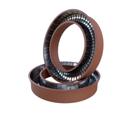 Spring-energized PTFE lip seals for rotary or translational movements