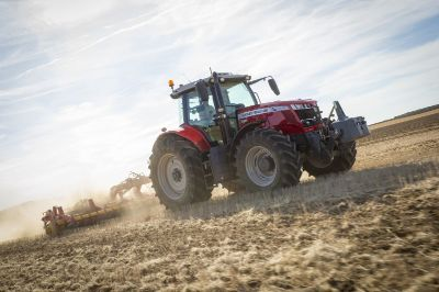 "AGCO News:  ""That is real engineering for a real winner – Massey Ferguson MF 7719 S – the award-winning Machine of the Year 2019 at SIMA show"""