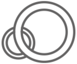Sealing Technology Icon: Two O-rings
