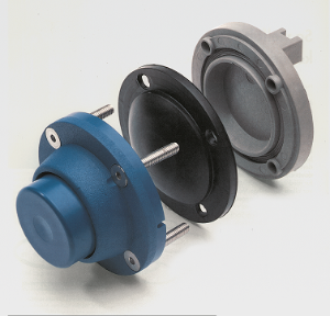 Molded seal for diaphragm valve