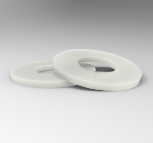 White Polyamide 66 U-Pulley
