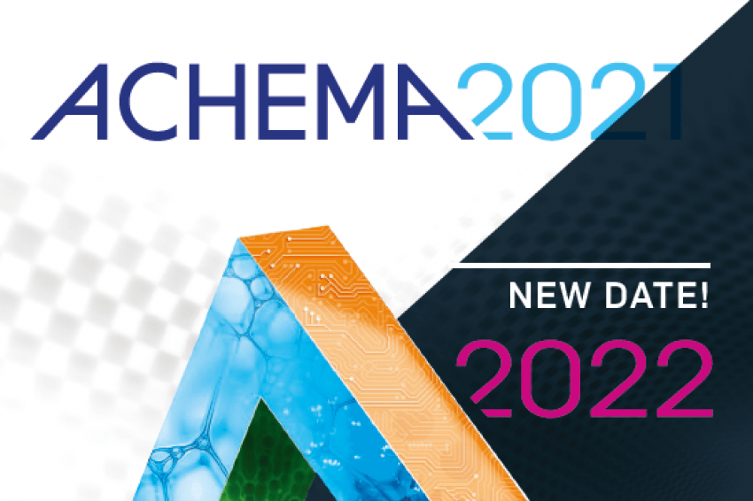 ACHEMA exhibition 2022 Logo